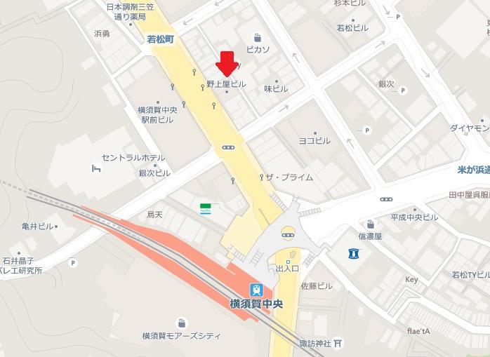 横須賀市若松町